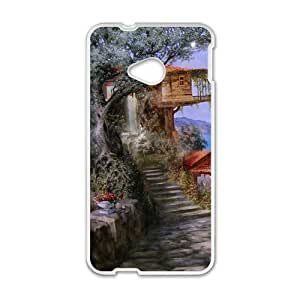 The country beautiful scenery Phone Case for HTC One M7