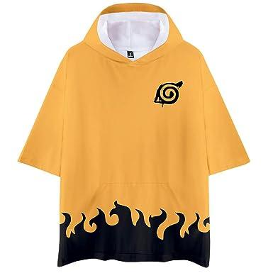 Memoryee Anime Naruto Camiseta con Estampado 3D Jersey de ...