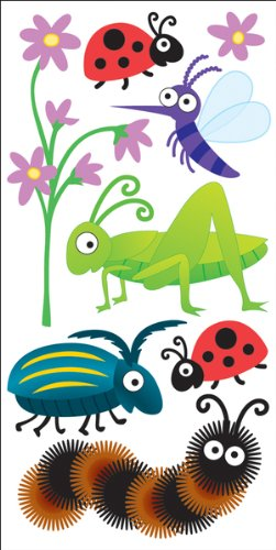 Dimensional Stickers Bugs - 2.75