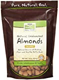 Now Foods, Almonds, Natural, Unblanched, 1 lb. (454 g)