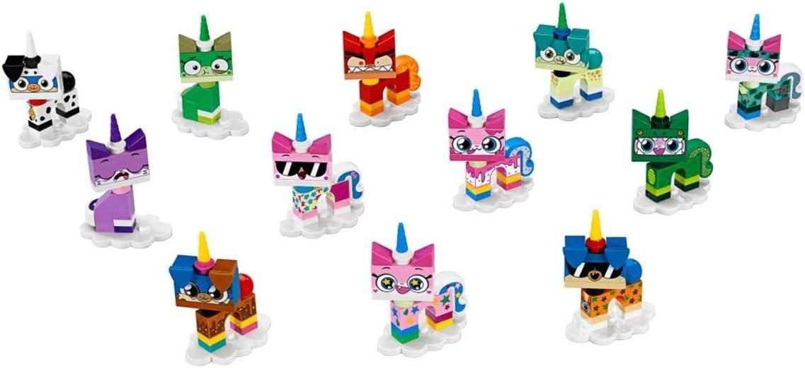 CARTOON NETWORK SERIES 41775 - COMPLETE SET OF 12 LEGO: UNIKITTY MINIFIGURES