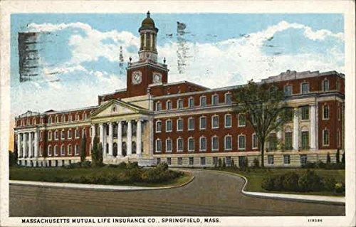 massachusetts-mutual-life-insurance-co-springfield-original-vintage-postcard