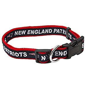 Pets First NFL New England Patriots Pet Collar, Large