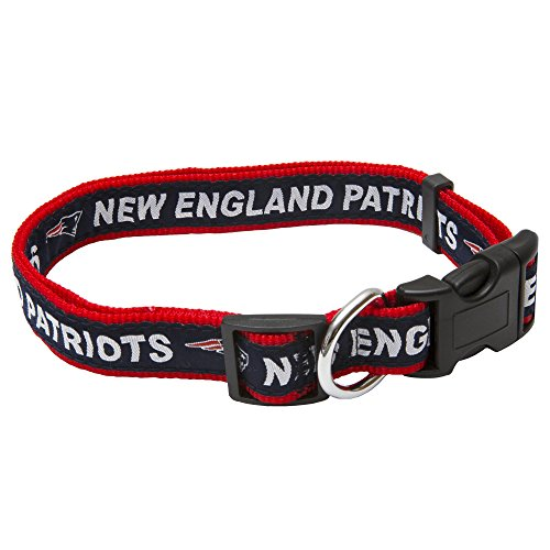 Pets First NFL New England Patriots Pet Collar, - Clothing New Outlets Jersey