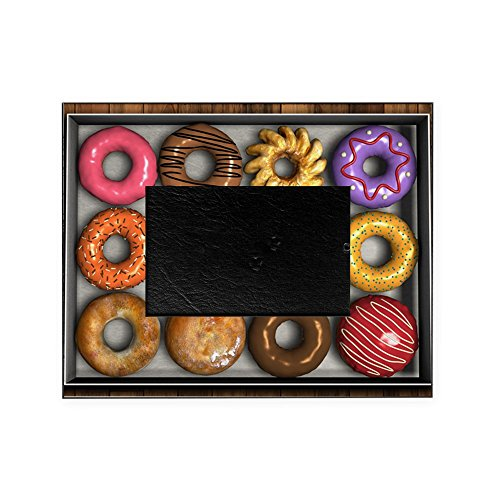CafePress - Box Of Doughnuts - Decorative 8x10 Picture Frame by CafePress