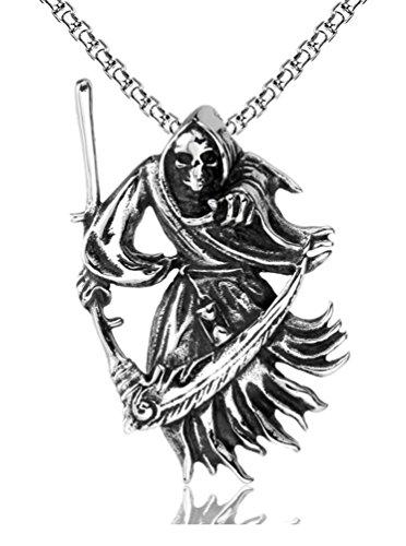 Censtusllery Titanium Reaper Pendant Necklace product image