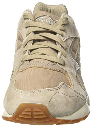 Puma Unisex-voksen Fremherskende Citi Lav-top, Sort / Hvid Beige (khaki Vintage-vintage Khaki-whisper Hvid 03)