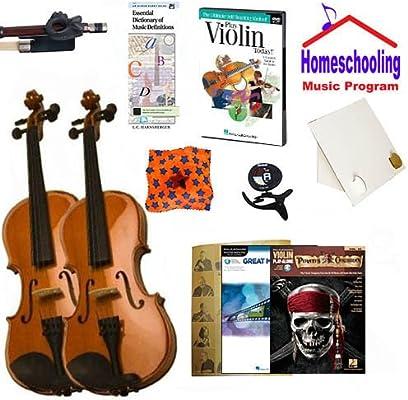 homeschool música – violín de aprender el padre y niño Bundle Pack ...