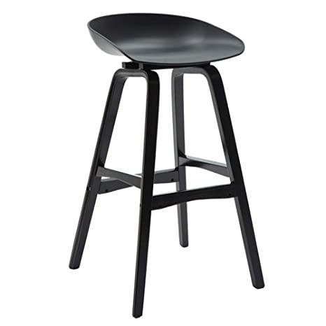 Stupendous Solid Wood Barstools Modern High Stool With Backs Plastic Pdpeps Interior Chair Design Pdpepsorg