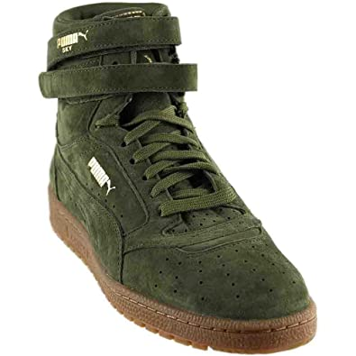 d1a0cd2eda2a PUMA Sky II Hi NBK Women US 6 Green Sneakers