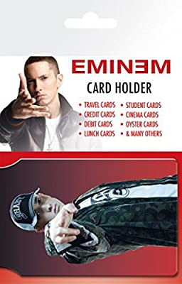 Eminem Credit Card Holder Wallet For Fans Collectible - Shady (4 x 3 inches)