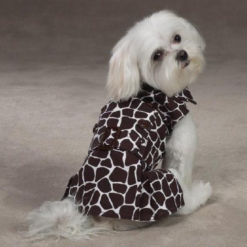 Z & Z Wild Side Giraffe Print Dress Teacup