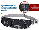 WATERFLY Fanny Pack Slim Soft Polyester Water