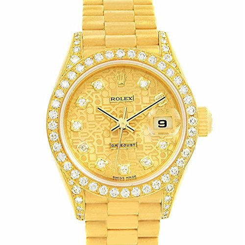 Rolex Day-Date automatic-self-wind womens Watch 69158 (Certified Pre-owned) (Wo Rolex For)