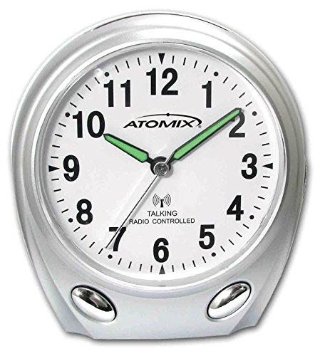 Atomix® Atomic Talking Alarm Clock