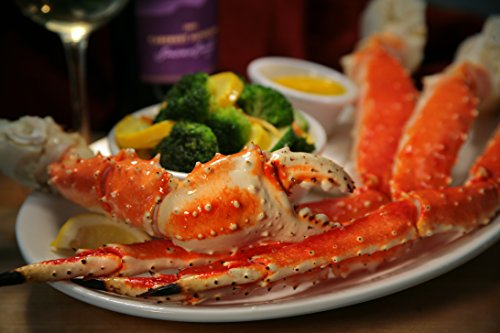 Giant King Crab Legs 5lb 4-7 Size ()