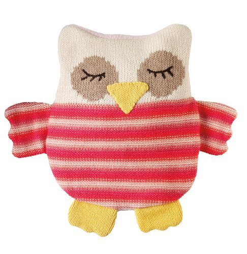 Aroma Home Animal Hotties Microwavable Knitted Owl Body Warmer by Aroma Home Aroma Home Body Warmer