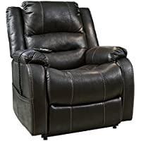 Ashley Yandel Power Lift Recliner in Black