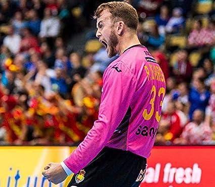 Camiseta Joma Portero España Balonmano 2019 Rosa - XXL: Amazon.es ...