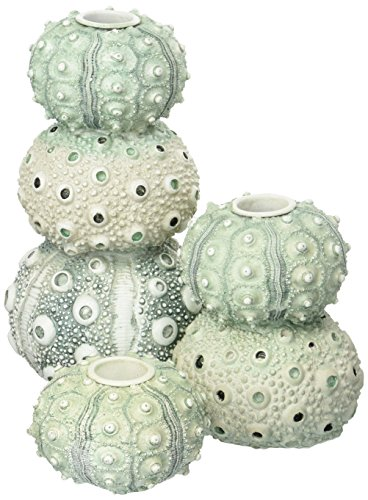 Two's Company 51499 Set of 3 Sea Urchin Tapered Candle Holder