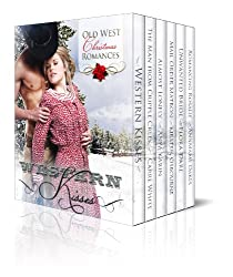 Western Kisses - Old West Christmas Romances (Boxed Set) (English Edition)