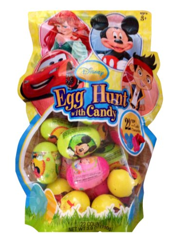 Disney Easter Egg Hunt with Candy (22 Count)