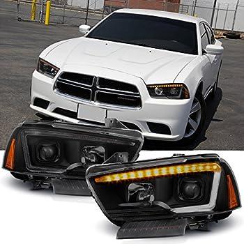 Amazon com: [For 2011-2014 Dodge Charger Halogen Model] OLED
