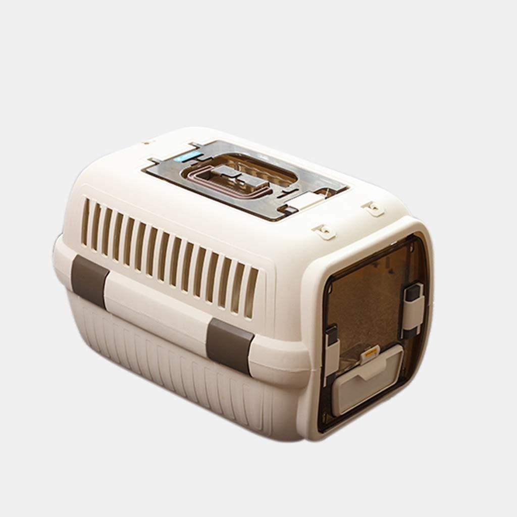 50x33x29cm MIAOLIDP Pet Air Box Cat Consignment Cage Airplane Travel Bag Car Cat Cage Outing Cat Box Pet cat carrier (Size   50x33x29cm)