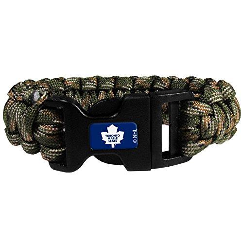 NHL Toronto Maple Leafs Camo Survivor Bracelet, (Toronto Maple Leafs Bracelets)