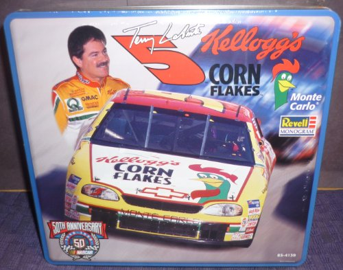 Terry Kelloggs - #4139 Revell Nascar 50th Anniversary Collector Tin Terry Labonte #5 Kelloggs Corn Flakes 1/24 Scale Plastic Model Kit