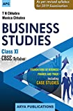 Business Studies - Class XI (2018-19 Session)