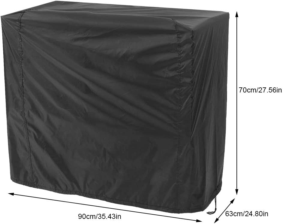 Copertura per barbecue in poliestere per esterno impermeabile antipolvere anti-UV per barbecue per esterni Copertura per barbecue Protezione per barbecue da giardino 80x66x100cm