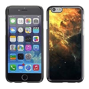 A-type Arte & diseño plástico duro Fundas Cover Cubre Hard Case Cover para Apple Iphone 6 Plus 5.5 (Hermoso racimo de la galaxia)