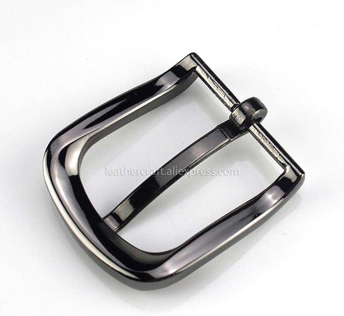 Gouen 1Pcs Hebilla de cinturón de Metal de 3 cm Barra de ...