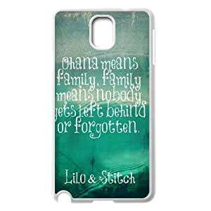 Chinese OHANA Customized Phone Case for Samsung Galaxy Note 3 N9000,diy Chinese OHANA Case