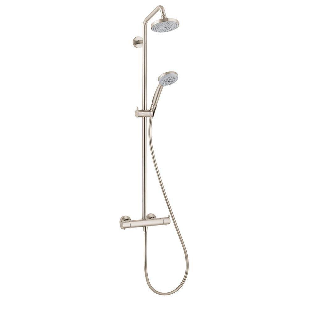 Hansgrohe 27169821 Showerpipe, Brushed Nickel