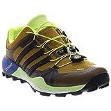 Adidas Outdoor Terrex Boost GTX Trail Running Shoe - Men's Raw Ochre/Black/Bright Yellow, 8.5