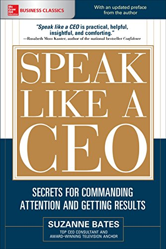 Free Speak Like a CEO: Secrets for Commanding Attention and Getting Results (Mcgraw Hill Education Busine RAR