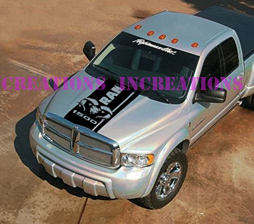 dodge ram decals for trucks hoods - 3