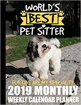 World's Best Pet Sitter Fur Kids Are My Specialty 2019