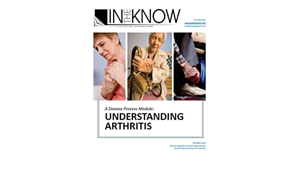 Nurse Aide Inservice Understanding Arthritis From In The