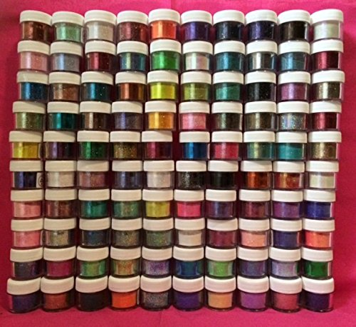 COMPLETE SET 100 COLORS Disco Cake 5 grams each container, decorating, cakes, wedding cakes By Oh! Sweet Art by Oh! Sweet Art