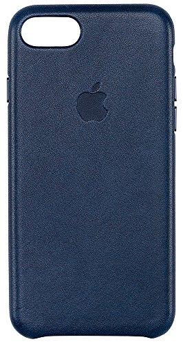 Apple Leather Case iPhone Midnight