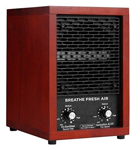 Breathe Fresh Air Commercial Air Purifier Ozone Generator W UV Sterilizer Hepa Filter