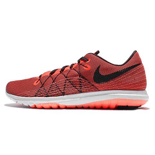 Nike Men's Flex Fury 2, Total Crimson/Black-Black-Bright Mango Size 9.5