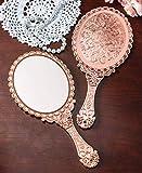 XPXKJ Hand Mirror Vintage Handheld Mirror with