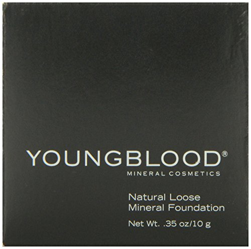 Youngblood Loose Mineral Foundation, Tawnee, 10 (Mineral Makeup Loose Powder Foundation)