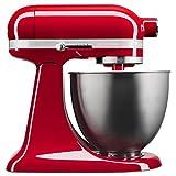 KitchenAid KSM3311XER Artisan Mini Series Tilt Head Stand Mixer, Empire Red, 3.5 quart