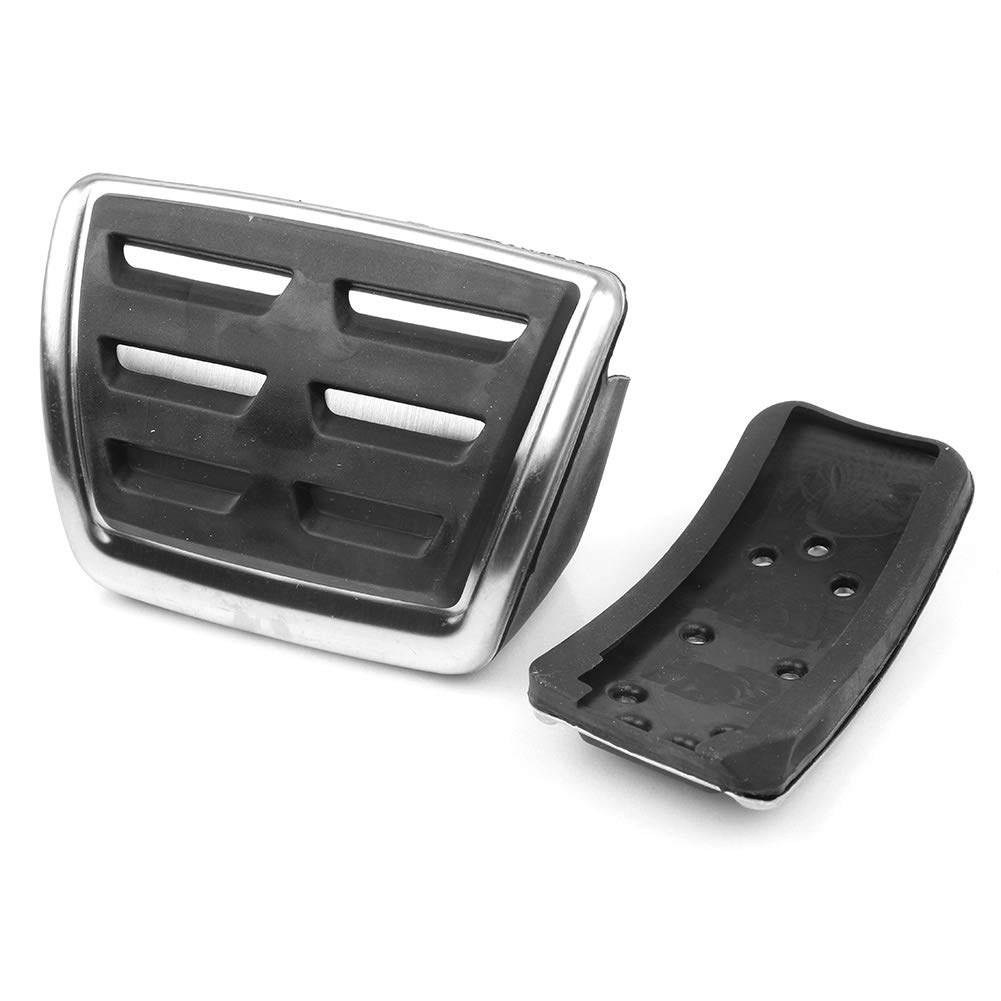 GZYF Stainless Steel Brake Gas Accelerate Pedal Cover Fits VW Teramont Atlas 2017 2018