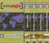 Wide Angle Season One Video and Discussion Guide Pack Includes 5 Videos From Season One and Discussion Guide - Videos Include Greetings From Grozny, Soul of India, Cause for Murder, the Empty ATM and to Have and Have Not.